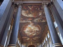 Greenwich, Royal Naval College Royalty Free Stock Images