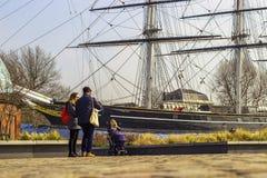 Greenwich statek Fotografia Royalty Free