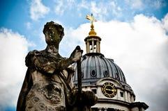 Greenwich Statua Zdjęcia Stock