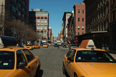Greenwich Street New York Stock Photography