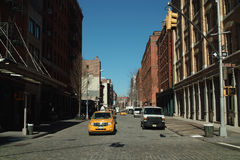 Greenwich Street New York USA Royalty Free Stock Images
