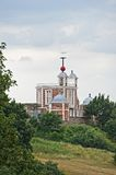 Greenwich Time Ball over Flamsteed House, UK Royalty Free Stock Image
