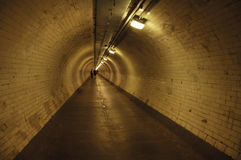 Greenwich tunnel Royalty Free Stock Image