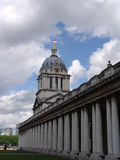 Greenwich University Building. View of Greenwich World Heritage building housing the painted chapel royalty free stock photo