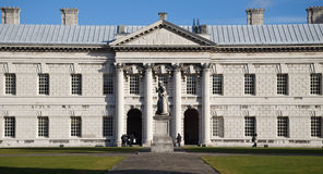 Greenwich University Facade stock images