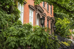 Greenwich Village apartment buildings, New York City Royalty Free Stock Photography