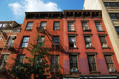 Greenwich Village Apartment in NYC Royalty Free Stock Images