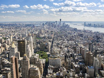 Greenwich Village And Downtown Manhattan Royalty Free Stock Images