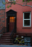 Greenwich village house. Typical house in greenwich village royalty free stock image