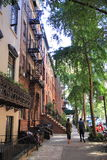 Greenwich Village, New York. Wonderfull quarter in New York city stock photos