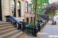 Greenwich Village. Romantic district of New York Royalty Free Stock Photography