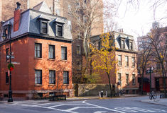 Greenwich Village Street Scene in Manhattan New York City Stock Photography