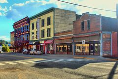 Greenwood, Canada's smallest city Royalty Free Stock Image