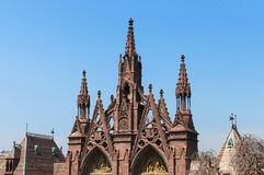 Greenwood cemetery entrance Stock Image