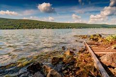 Greenwood NY Jeziorny lato obrazy stock