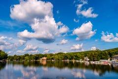 Greenwood NY Jeziorny lato obrazy royalty free