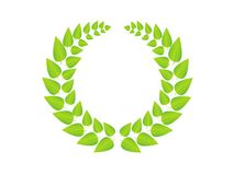 GreenWreath Royalty Free Stock Photography