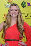 Greer Grammer. LOS ANGELES - OCT 22:  Greer Grammer arriving at the 2011 Variety Power of Youth Evemt at the Paramount Studios on October 22, 2011 in Los Angeles Royalty Free Stock Photography