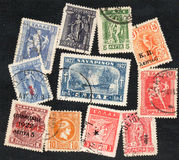 Greece stamps Royalty Free Stock Photography