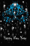 Greet Card - Happy New Year Royalty Free Stock Photo