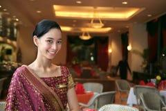 Greeter o personale del ristorante Fotografie Stock
