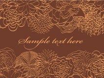 Greetin card Royalty Free Stock Photography