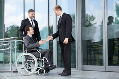 Greeting before business meeting Stock Photography