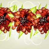 Greeting card. In grunge or retro style. Design congratulation christmas royalty free illustration