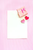 Greeting card. Stock Images