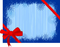 Greeting-card. Illustration of blue greeting card Royalty Free Stock Photo