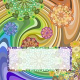 Greeting card. Abstract background, which can be used for greeting cards stock illustration