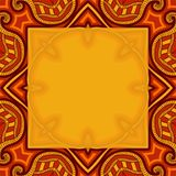 Greeting card with abstract pattern Stock Images