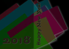 Greeting Card Background And Gift Tags.Happy new year Royalty Free Stock Image