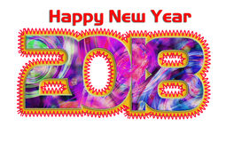 Greeting Card Background And Gift Tags.Happy new year Stock Photos