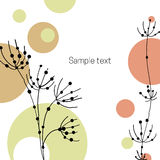 Greeting card background Royalty Free Stock Image