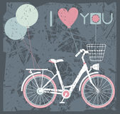 Greeting card background for Valentines day Stock Photography
