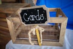 Greeting Card Box Stock Image