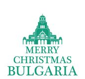 Greeting Card Bulgaria. Vector Illustration. illustration EPS Royalty Free Stock Photo