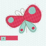 Greeting card with Butterfly Royalty Free Stock Photos