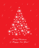 Greeting card christmas 2 Royalty Free Stock Photo