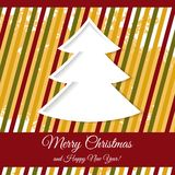 Greeting card with Christmas Royalty Free Stock Images