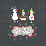 Greeting card, Christmas card Stock Photo