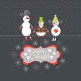 Greeting card, Christmas card Stock Photo