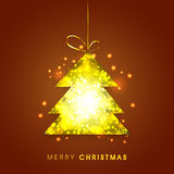 Greeting card for Christmas celebration. Royalty Free Stock Image