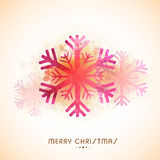 Greeting card for Christmas celebration. Royalty Free Stock Photo