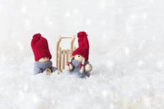 Greeting card for Christmas royalty free stock photo