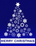 Greeting card christmas Stock Photography