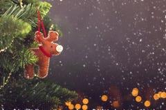 Greeting card Christmas decoration calendar Royalty Free Stock Image