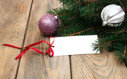Greeting card for christmas Royalty Free Stock Images
