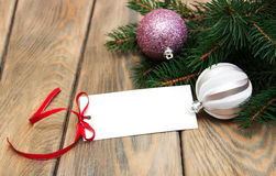 Greeting card for christmas Royalty Free Stock Image